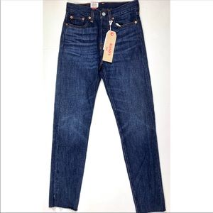 Levi's Wedgie High Rise Skinny Jeans Medium Wash